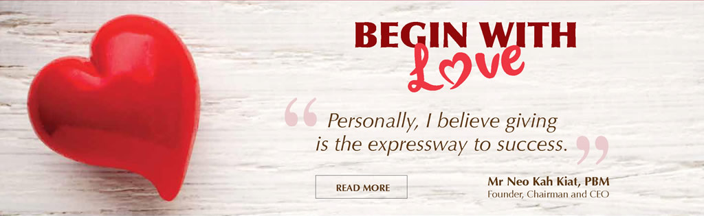 Begin With Love